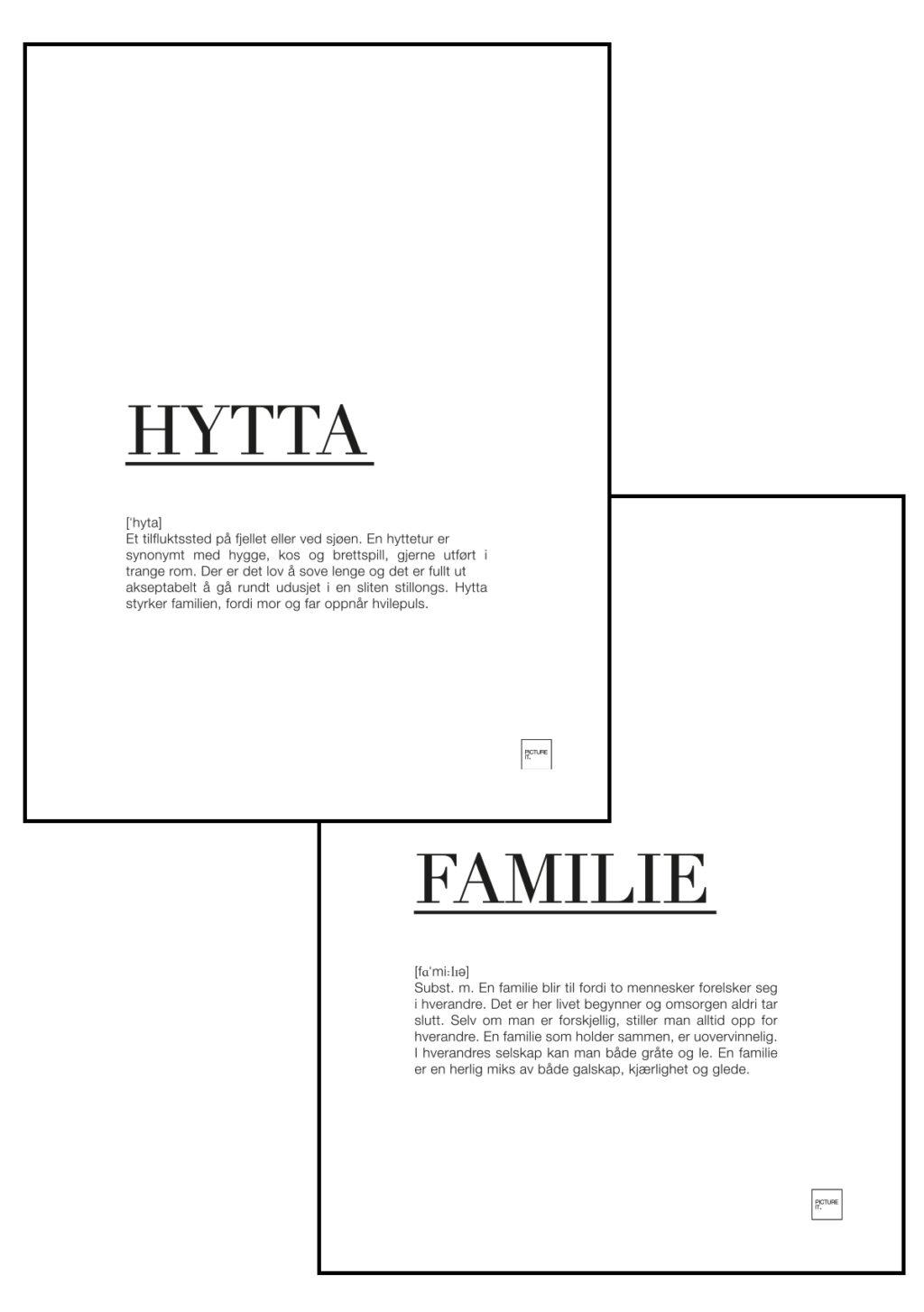 familie + hytta