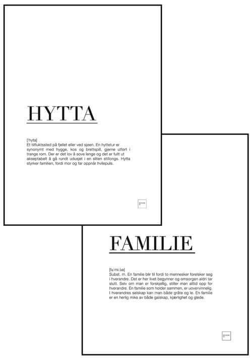HYTTA + FAMILIE