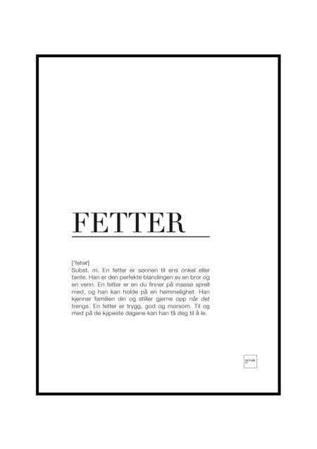 fetter poster