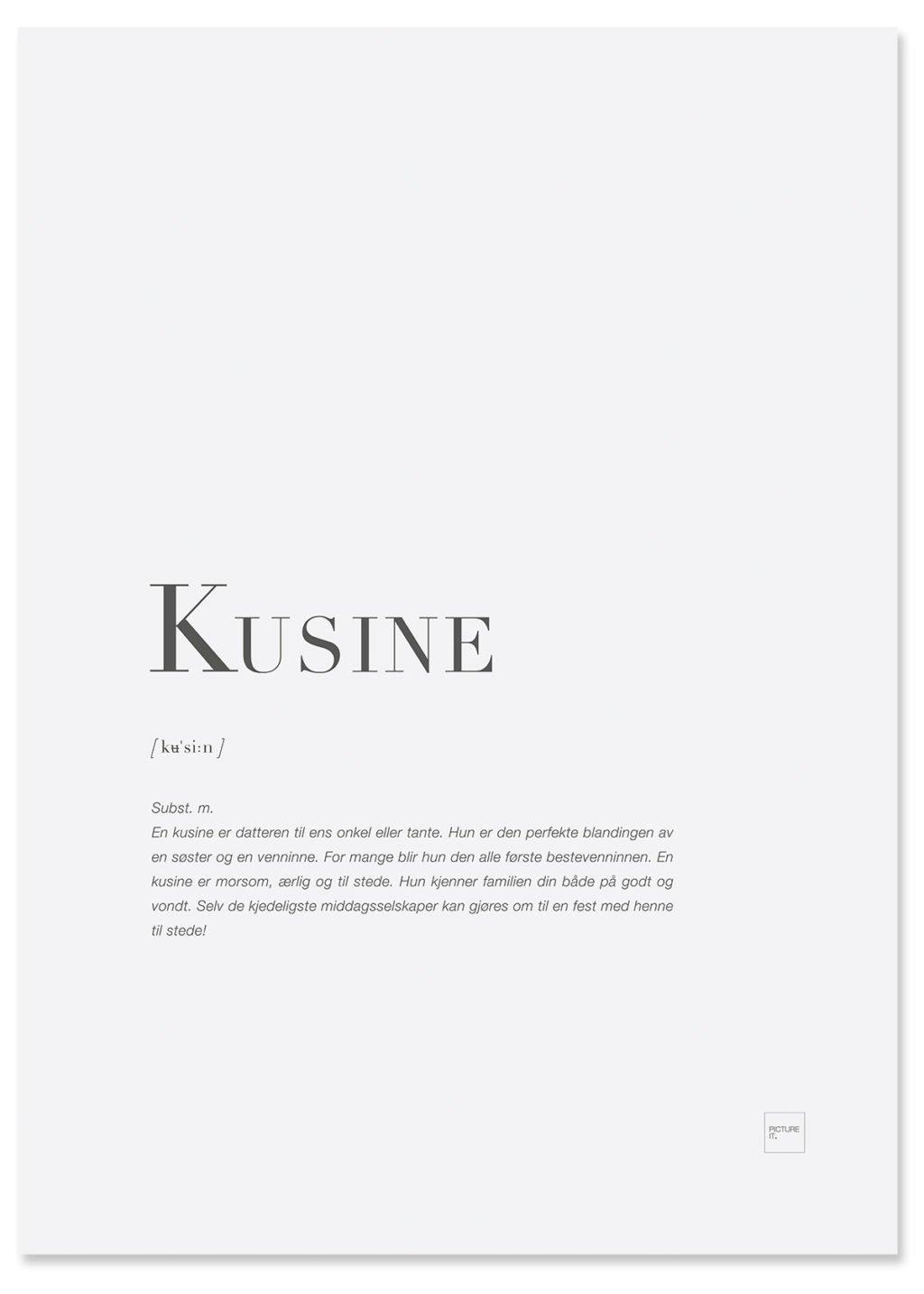 kusine-poster