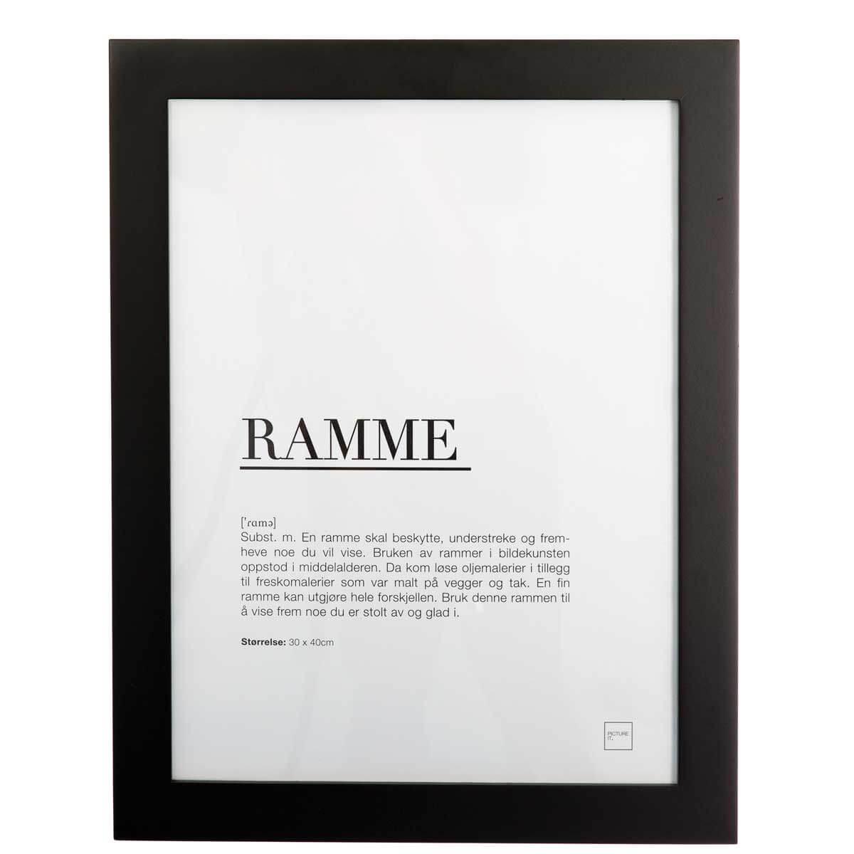 ramme-30x40cm