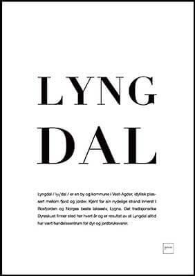 LYNGDAL poster