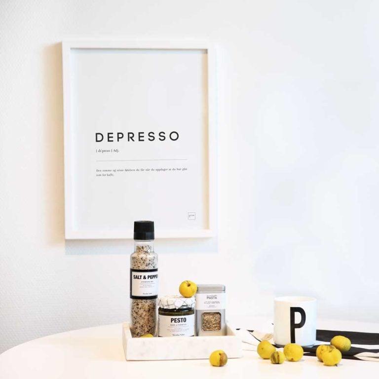 Depresso plakat