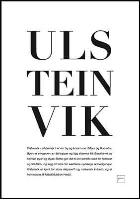 ulsteinvik poster