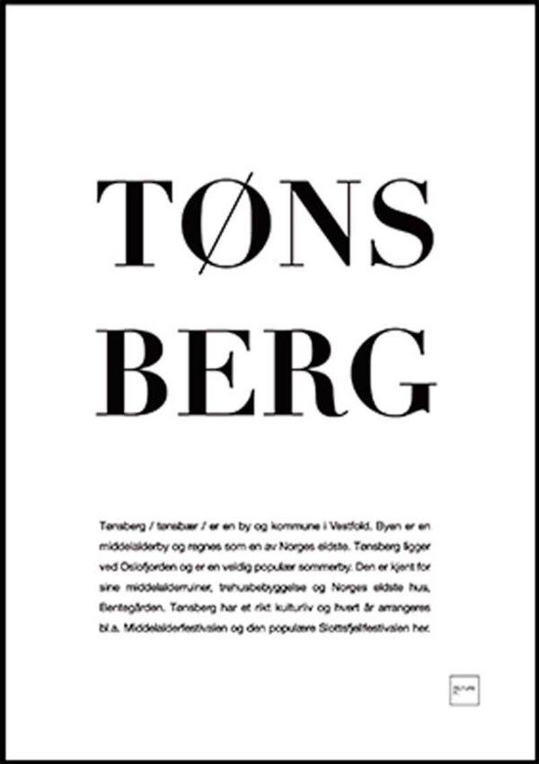 TØNSBERG poster