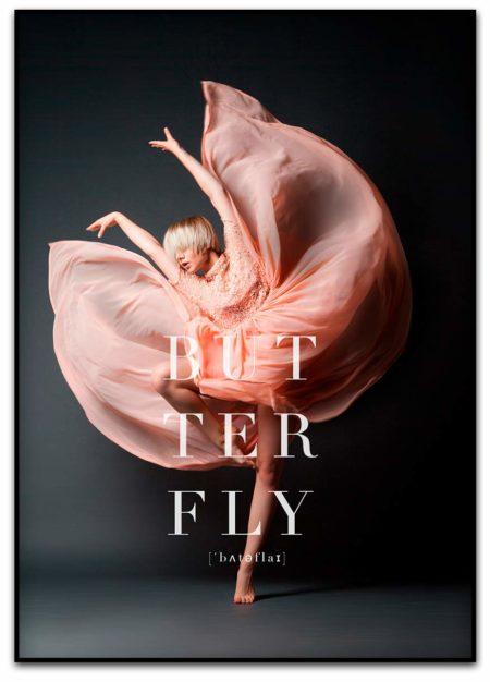 butterfly fotokunst poster fra pictureit.no posters og plakater