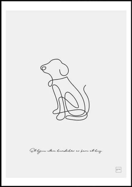 hund poster