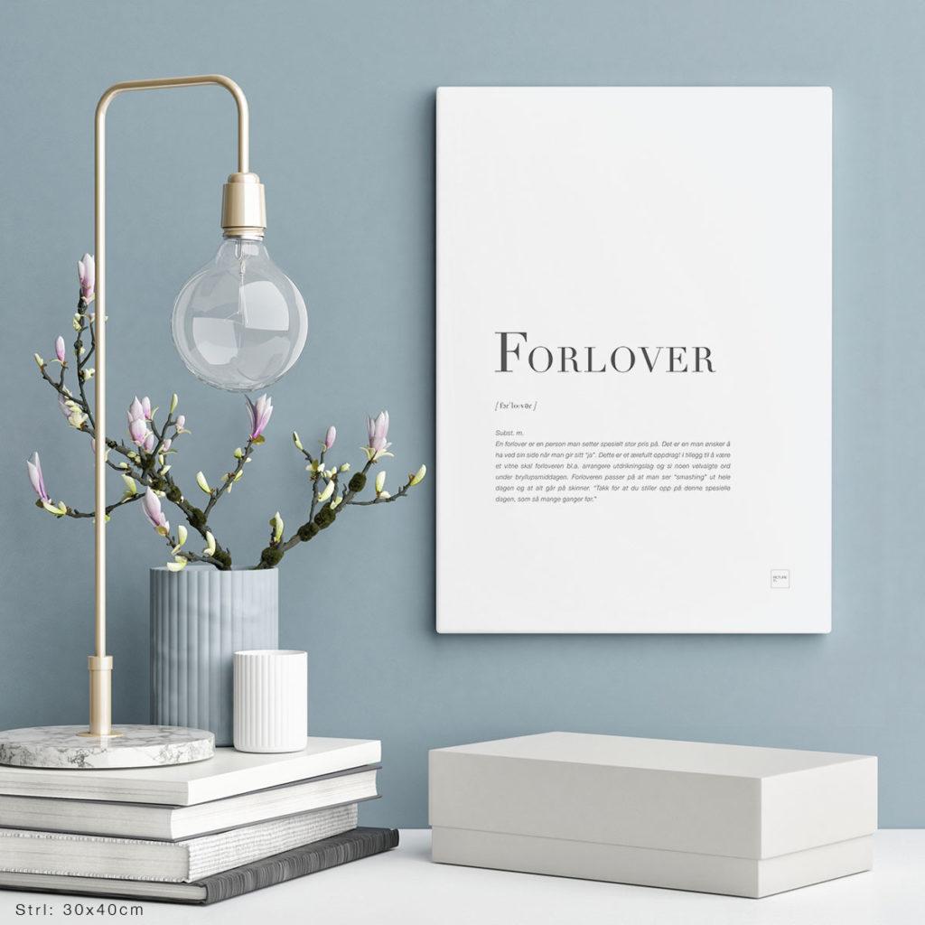 FORLOVER-30x40cm