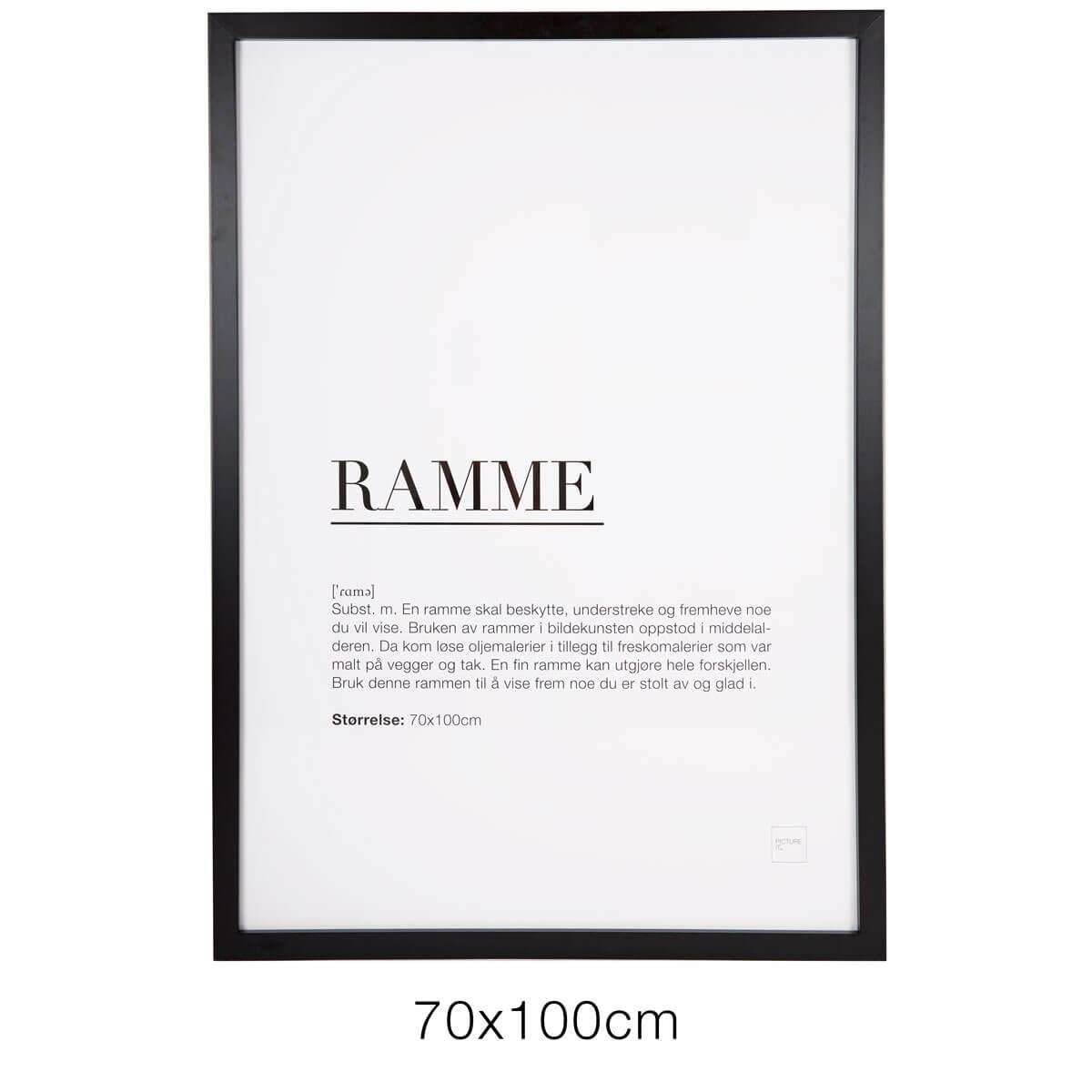 Ramme 70x100cm