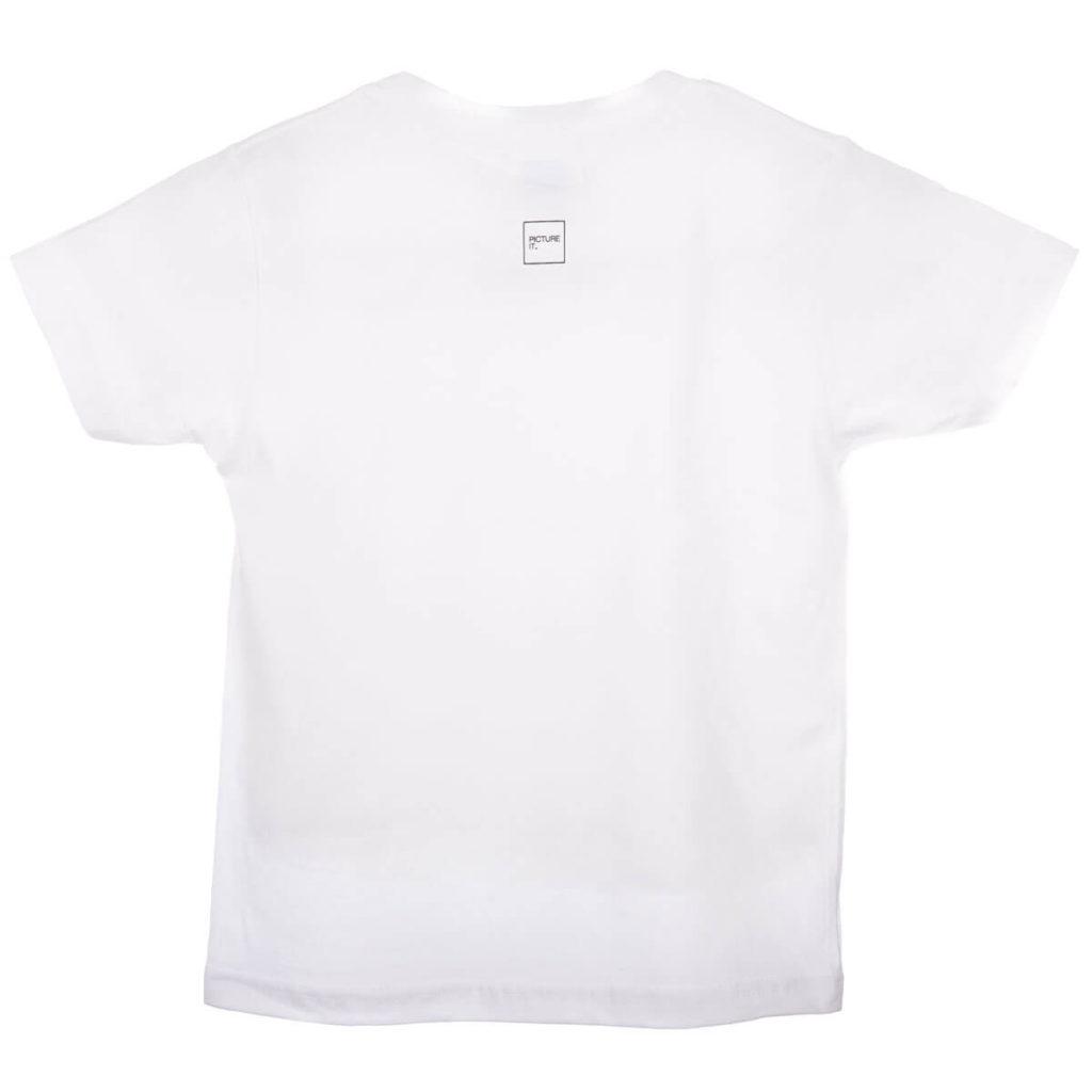 Bakside t-skjorte m/logo