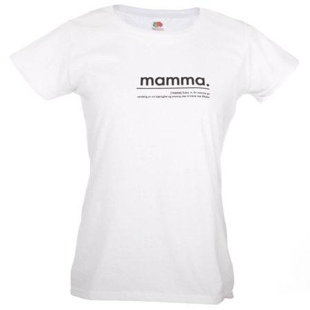 MAMMA t-skjorte