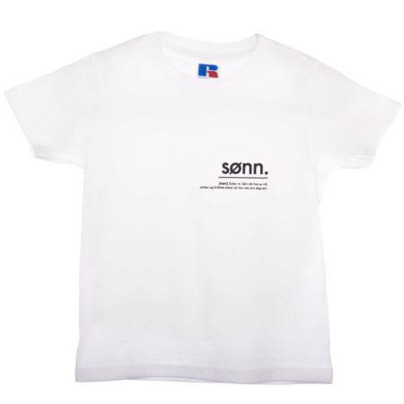 Matchende t-skjorte til mor og barn
