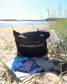 #Strandlivet totebag