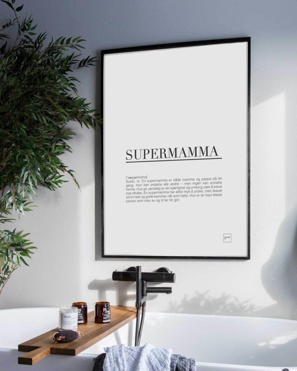 Supermamma poster