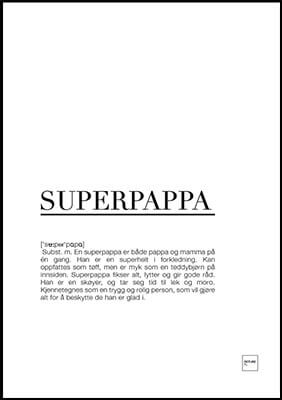 Superpappa poster