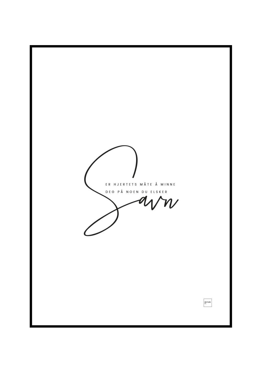 savn poster