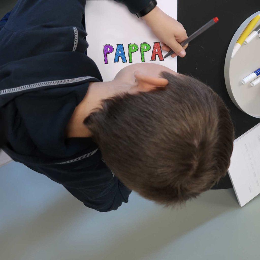 PAPPA fargelegg poster 30x40cm