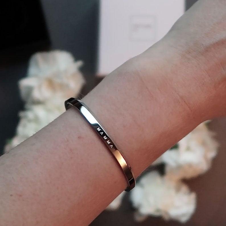 MAMMA stål armbånd