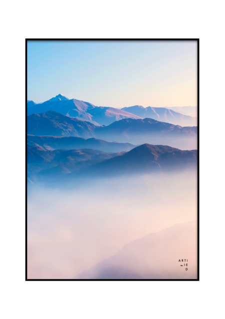 horizon poster fra artified