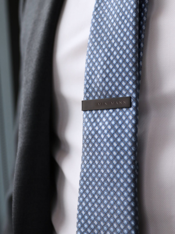 Svart slipsnål til min mann