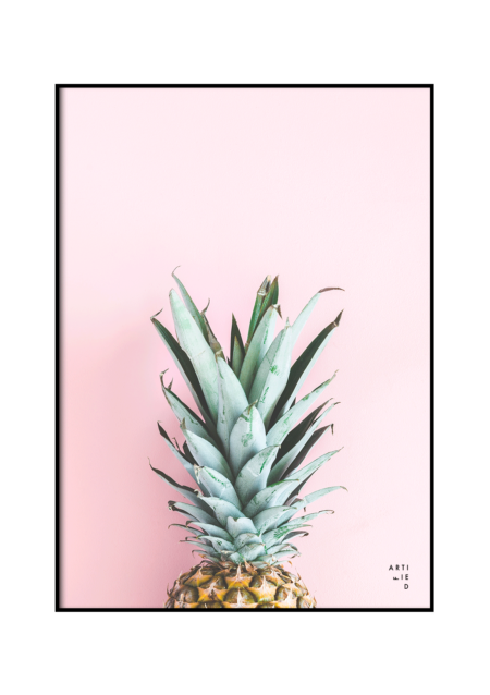 pineapple poster fra Artified