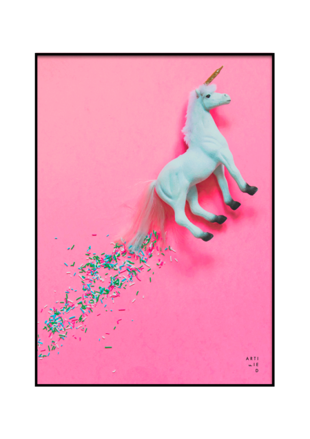 unicorn poster fra artified