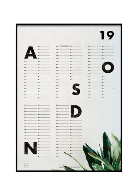 Studentkalender for studieåret 2019/2020