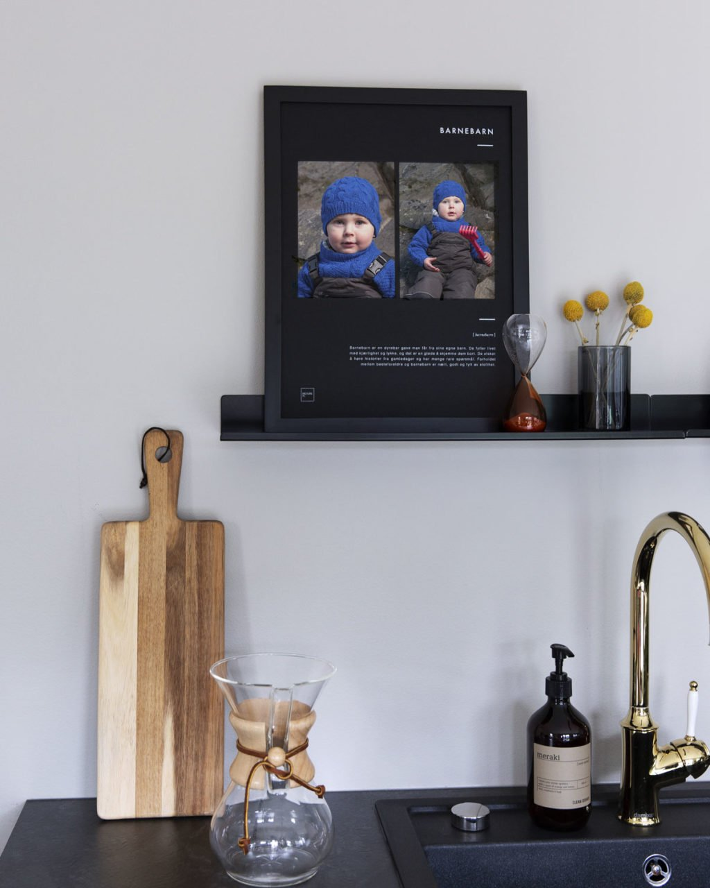 Barnebarn - personlig ramme
