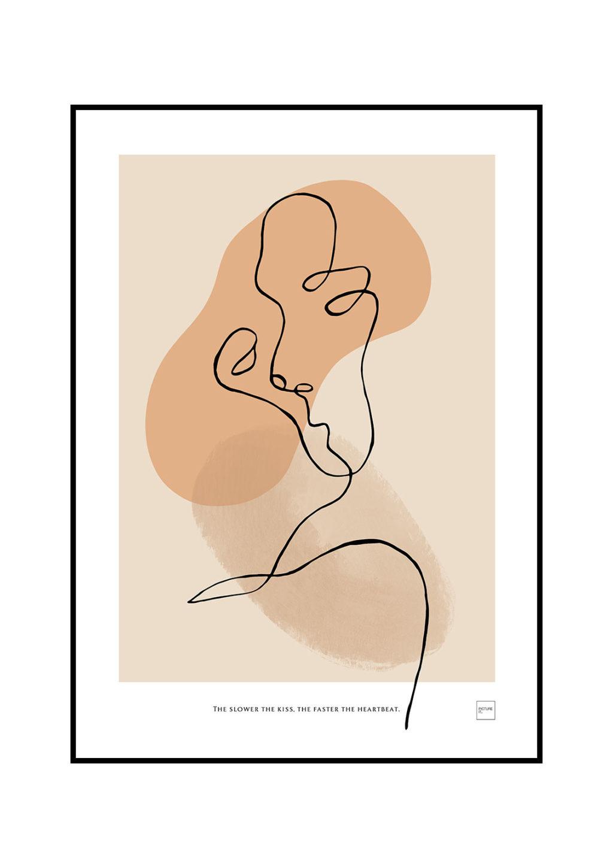 Produktbilde av KISS abstract poster