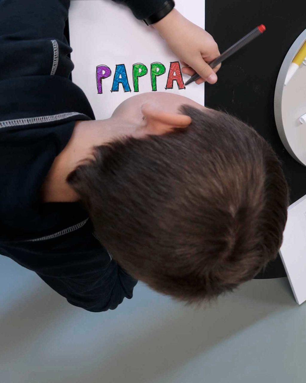 Tegneblokk pappa