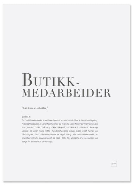 BUTIKKMEDARBEIDER