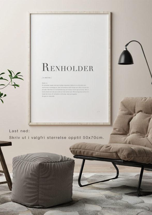 RENHOLDER-Last ned