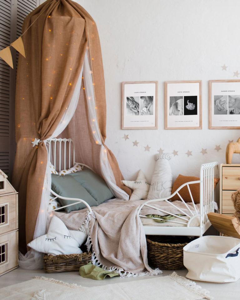 Fødselsramme til barneromm