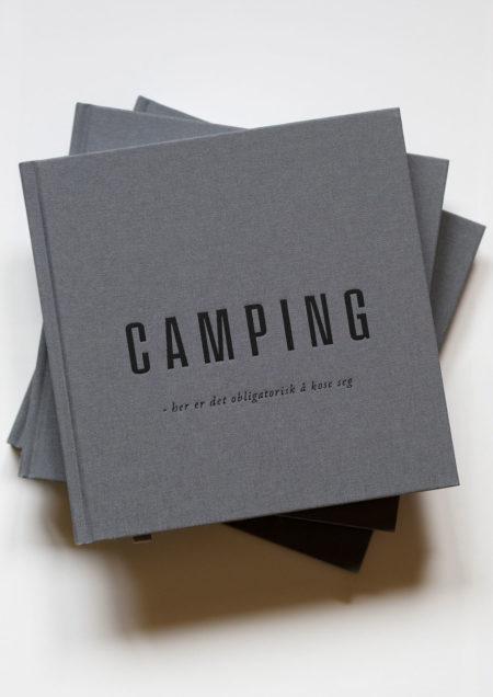 Camping bok - en slags hyttebok til campingferien