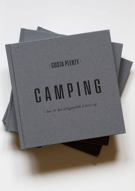 Camping bok med navn