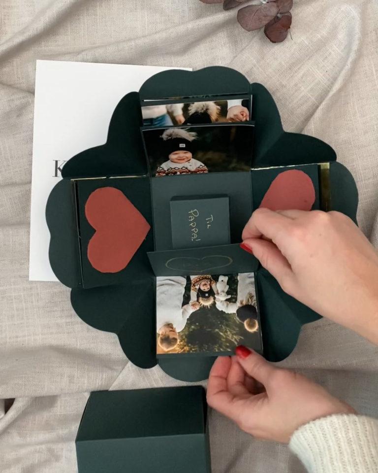 Tips til dekorering av gaveboks
