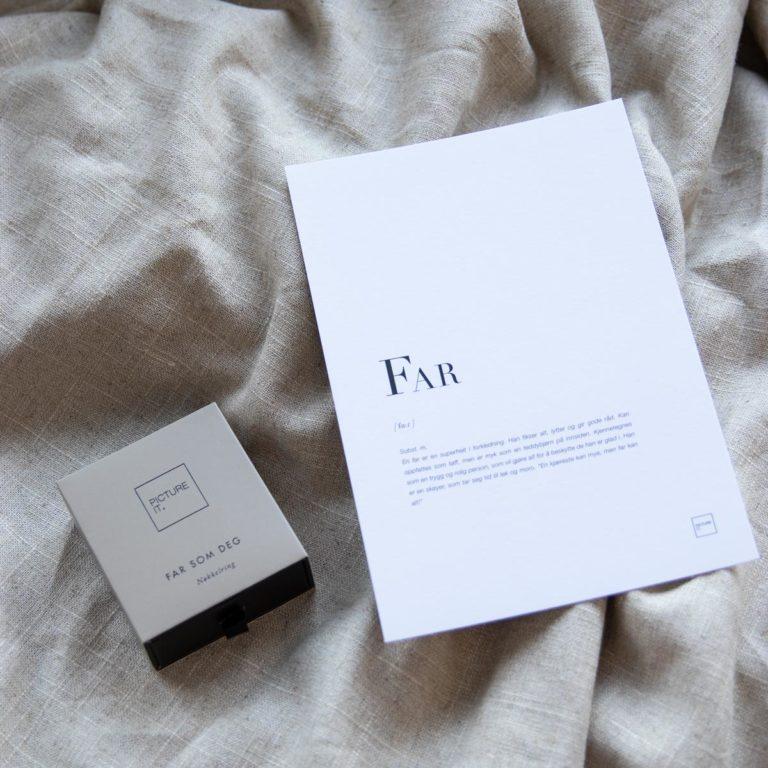 Far + kort
