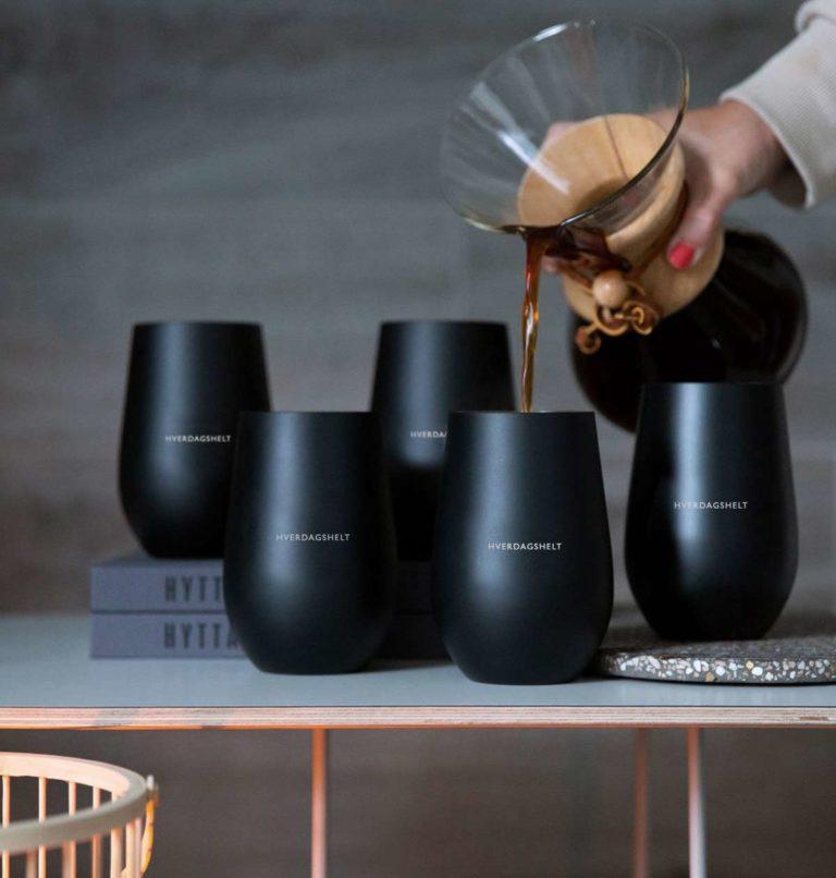 5 pk termo kaffekopper