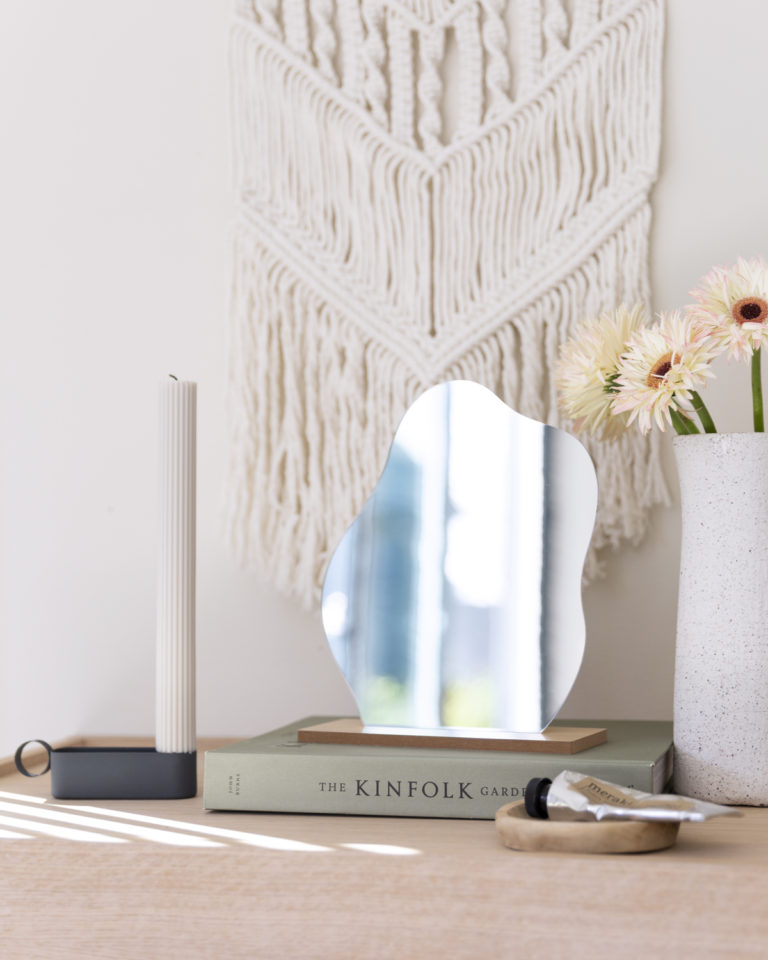 Dekorativt bordspeil